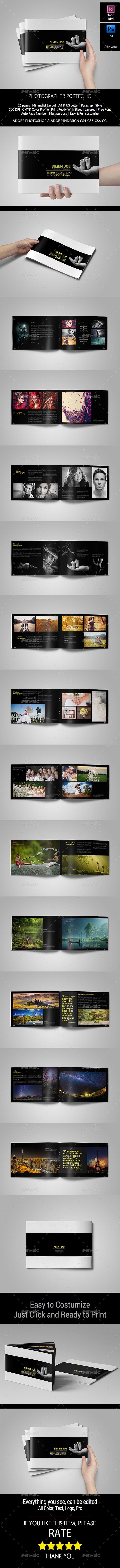 Photographer Portfolio / Catalogs - Portfolio Brochures
