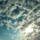 Clouds Moving In The Sky, The Sun Is Shining - VideoHive Item for Sale