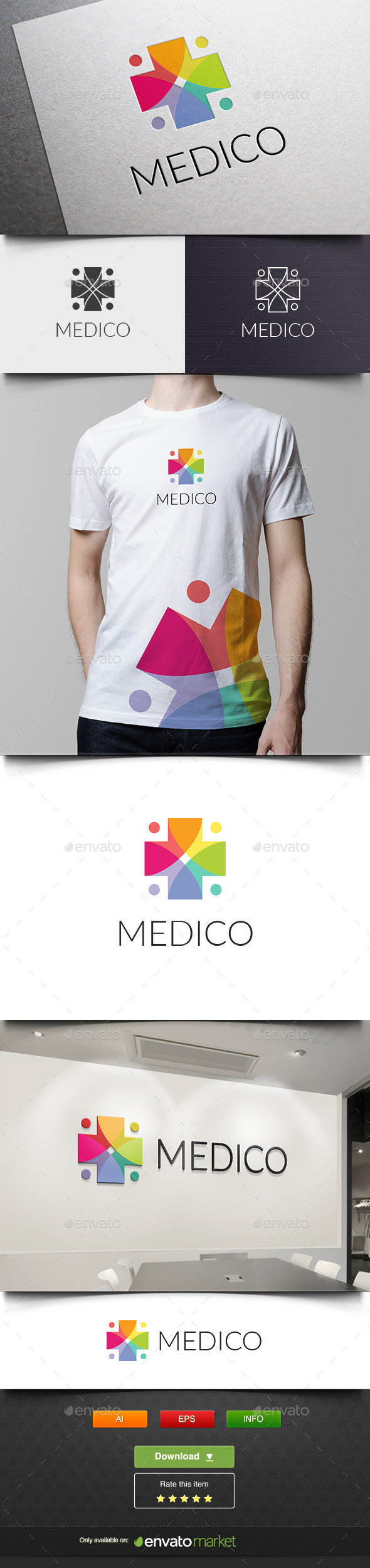 Medico - Abstract Logo Templates
