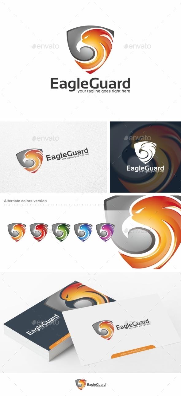 Eagle Guard - Logo Template - Animals Logo Templates