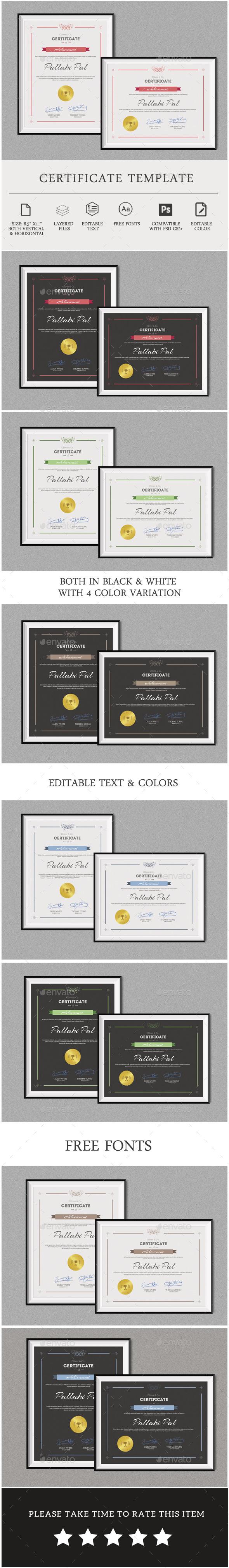 Multipurpose Certificate Template - Certificates Stationery