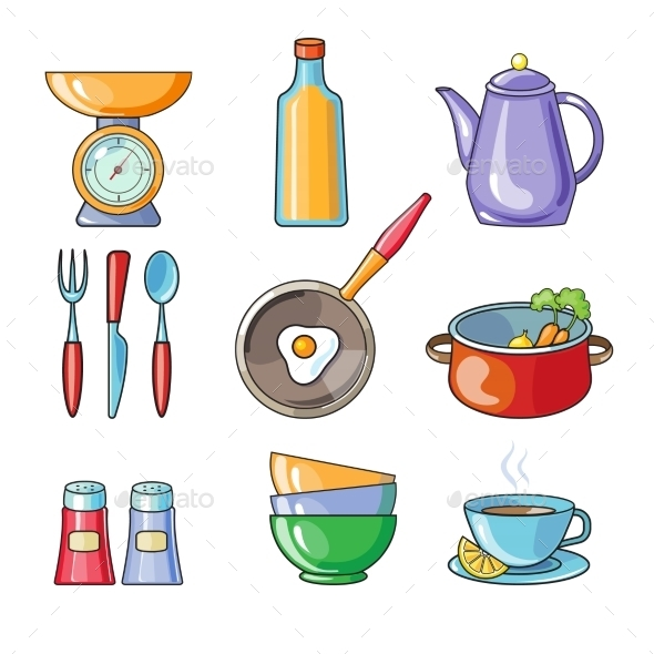 Cooking Tools and Kitchenware Equipment - Miscellaneous Vectors