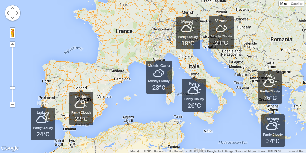 Weather widget weather on google maps javascript plugin by scr1g gumiabroncs Gallery