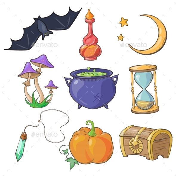 Magic and Fairy Tale - Miscellaneous Vectors