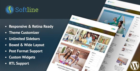 Softline – Responsive WordPress Blog Theme