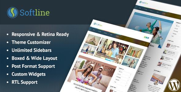 Softline - Responsive WordPress Blog Theme