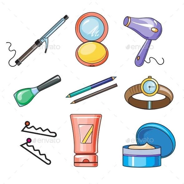 Female And Women Accessories Icon  - Objects Vectors
