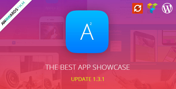 Appica 2 – WordPress App Showcase Theme