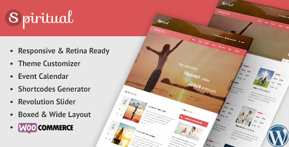 Spiritual – Church WordPress Theme (Responsive)