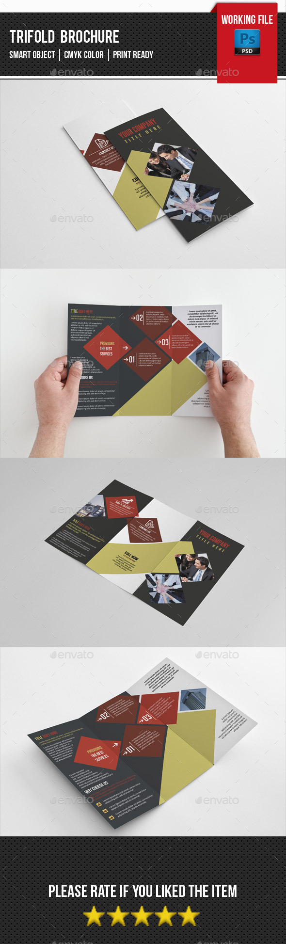 Corporate Trifold Brochure-V235 - Corporate Brochures