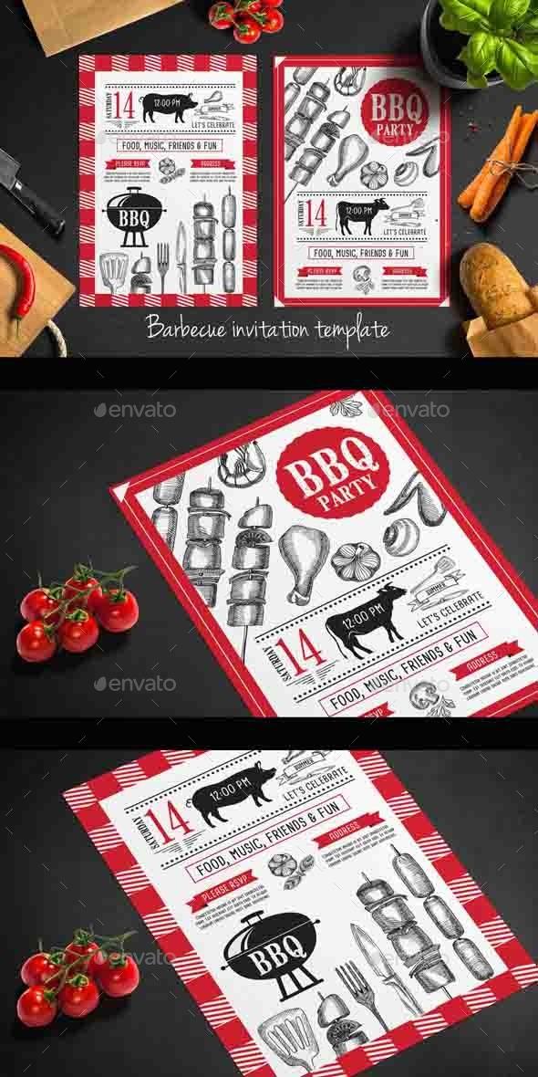 Bbq Party Invitation - Invitations Cards & Invites