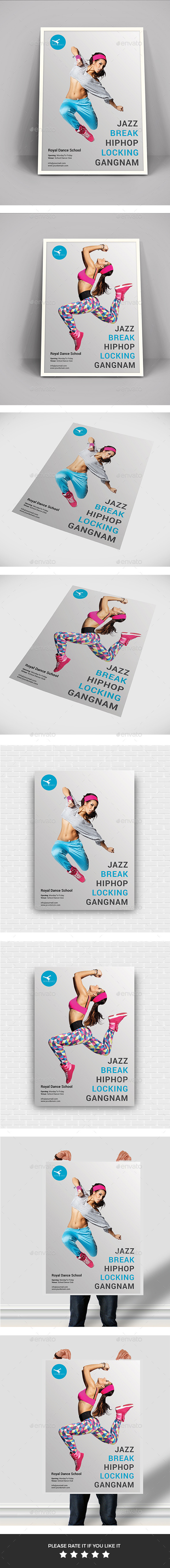 Dancing Flyers - Flyers Print Templates