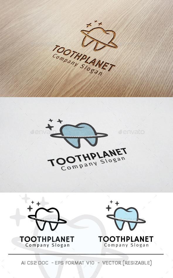 Tooth Planet Logo - Symbols Logo Templates