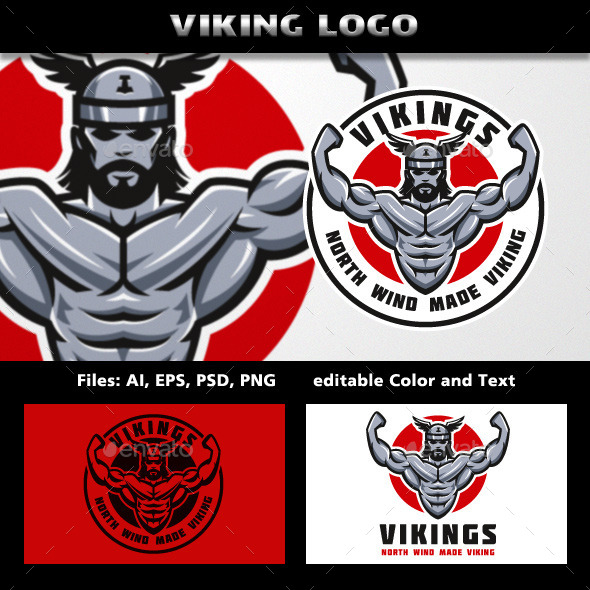 Vikings Logo - Humans Logo Templates