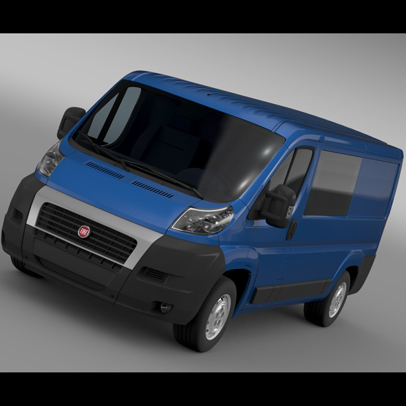 Fiat Ducato Combi L2H1 2006-2014 - 3DOcean Item for Sale