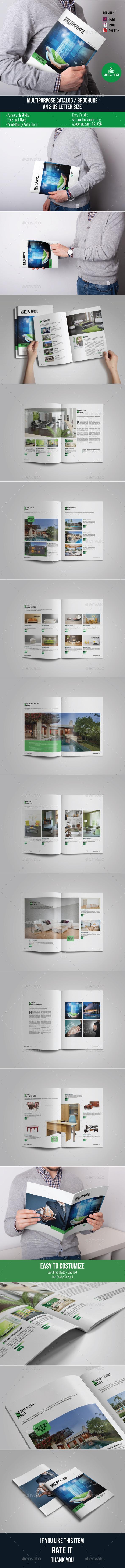 Multipurpose Catalog / Brochure Template - Catalogs Brochures