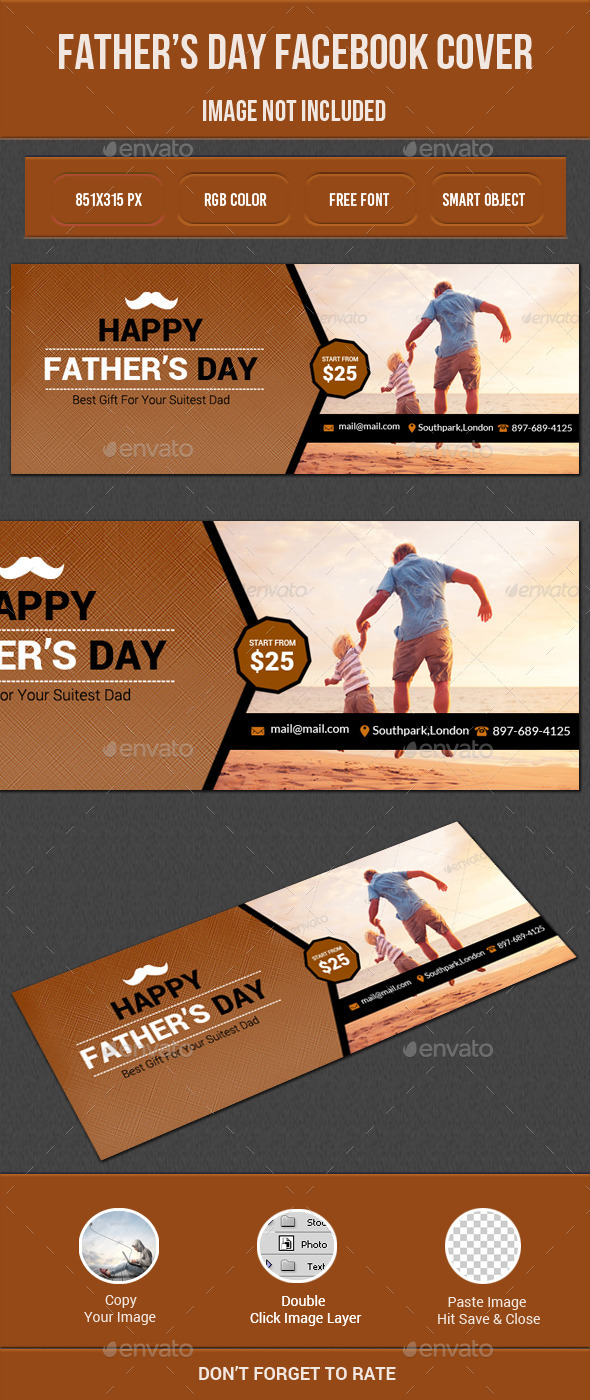Father's Day Facebook - Facebook Timeline Covers Social Media