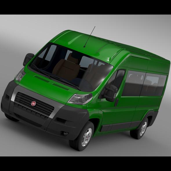 Fiat Ducato Maxi Bus L4H2 2006-2014 - 3DOcean Item for Sale