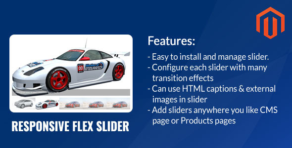Responsive Flex Slider Magento Extension - CodeCanyon Item for Sale