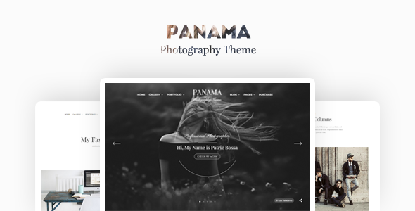 Panama – Photography Portfolio Theme