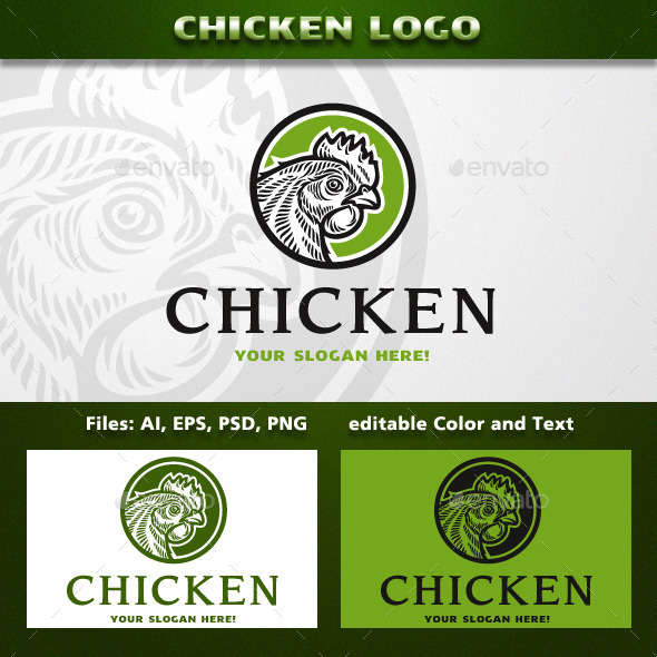 Chicken Logo - Animals Logo Templates