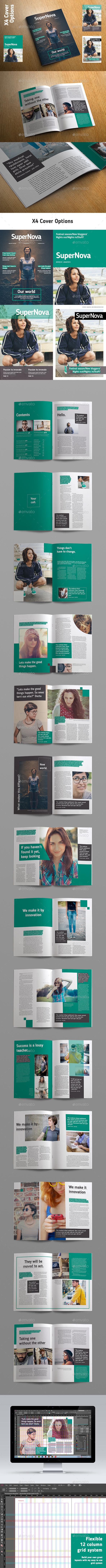 SuperNova Magazine - Magazines Print Templates