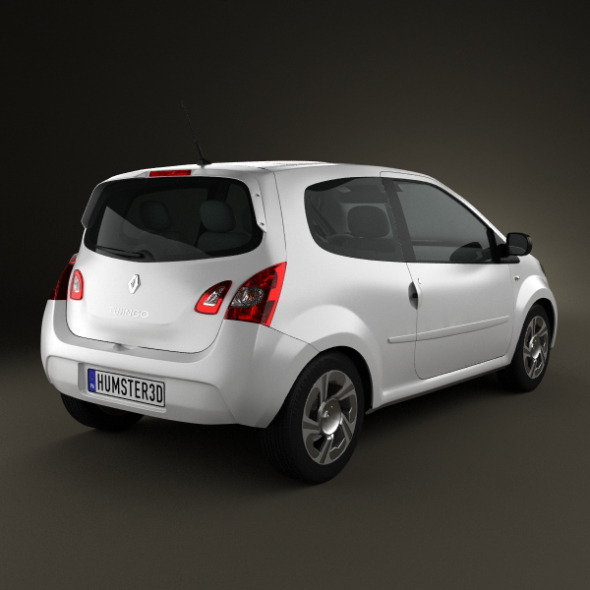 Renault Twingo 2012 By Humster3d 3docean