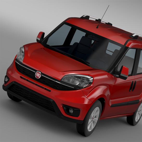 Fiat Doblo (152) 2015 - 3DOcean Item for Sale