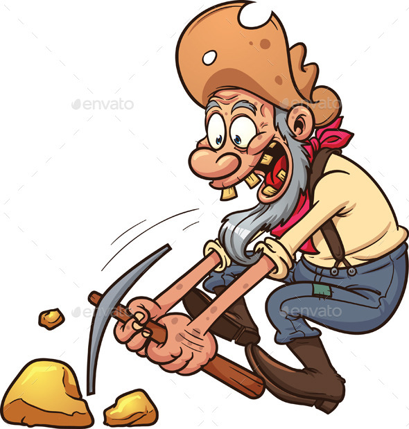 Gold Miner - People Characters