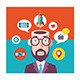 Guru and Technological Thought - GraphicRiver Item for Sale