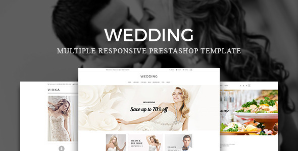 Leo Wedding Prestashop Theme - PrestaShop eCommerce