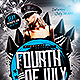 July 4th Flyer | Template PSD - GraphicRiver Item for Sale