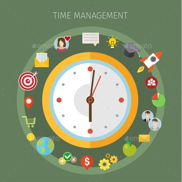 Concept Of Effective Time Management.  - Concepts Business