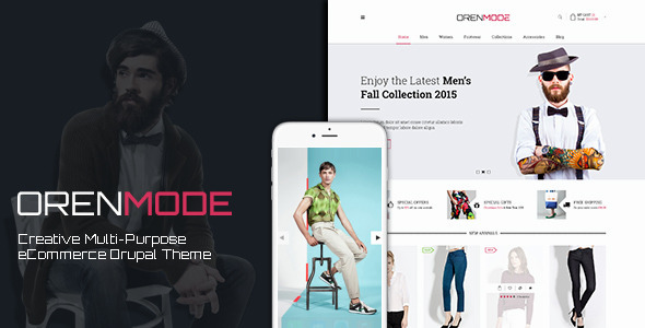 Orenmode – Creative Multi-Purpose Commerce Theme