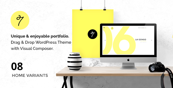 SEVEN – Minimal Portfolio / Agency WordPress Theme