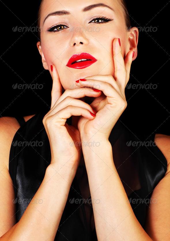 Sexy female portrait - Stock Photo - Images