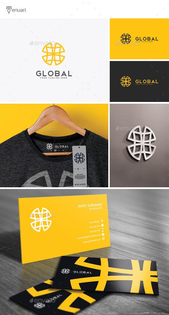 Global Logo - Vector Abstract