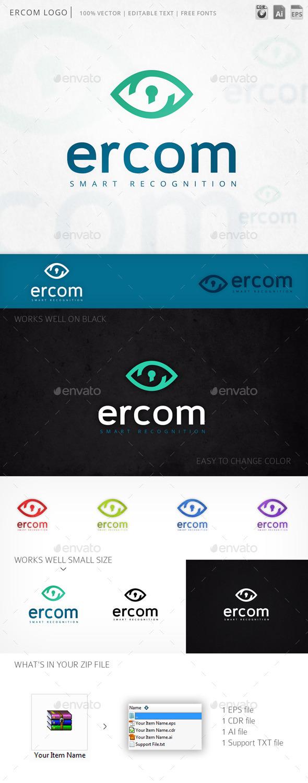 Ercom Eye Vision Logo Template - Symbols Logo Templates