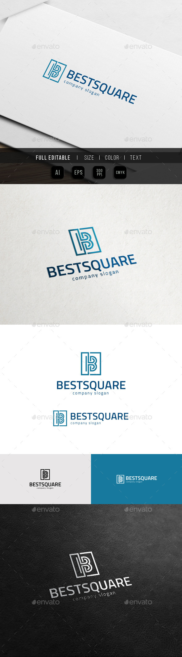 B Logo - Best Business Logo - Letters Logo Templates