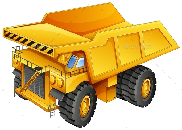 Mining Truck - Man-made Objects Objects
