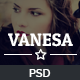 Vanesa PSD Template - ThemeForest Item for Sale