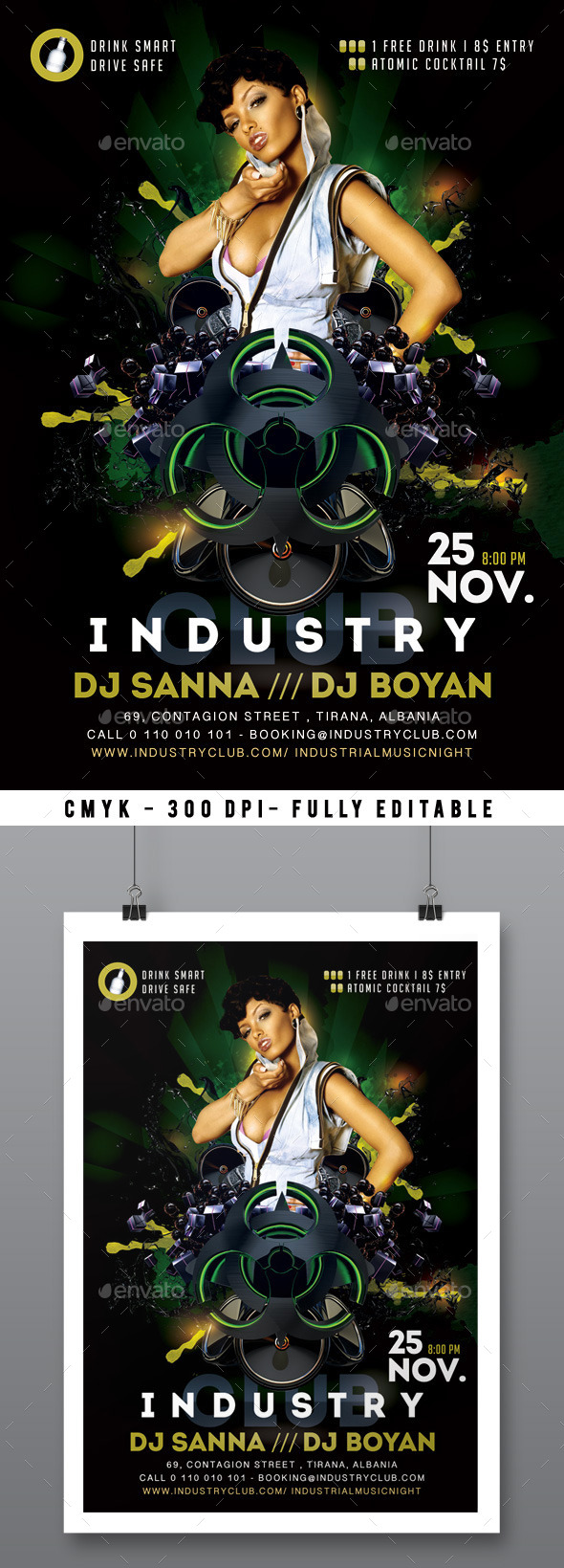 Industrial Night - Clubs & Parties Events