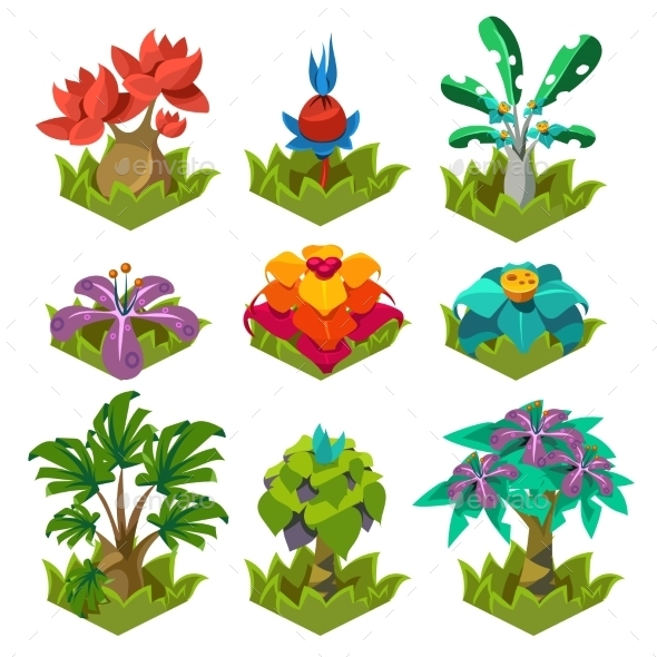 Garden Plants With Flowers For Game - Flowers & Plants Nature