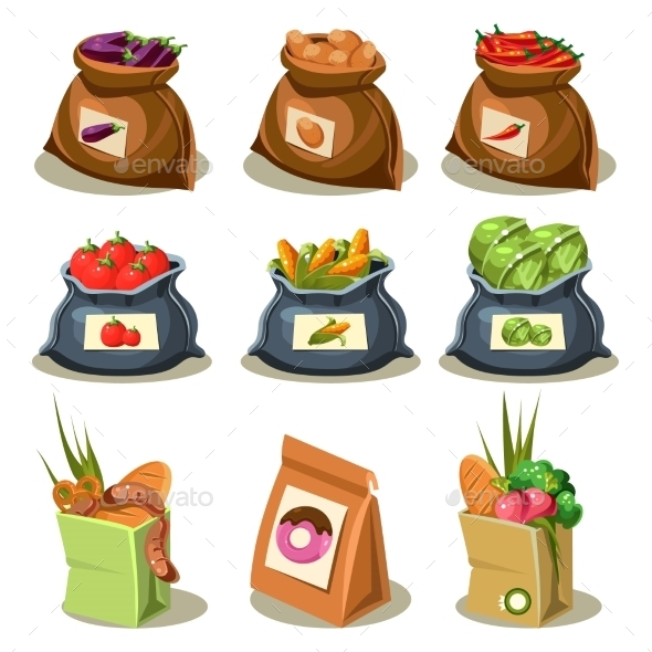 Natural Food Is Very Good Organic Vegetables  - Food Objects