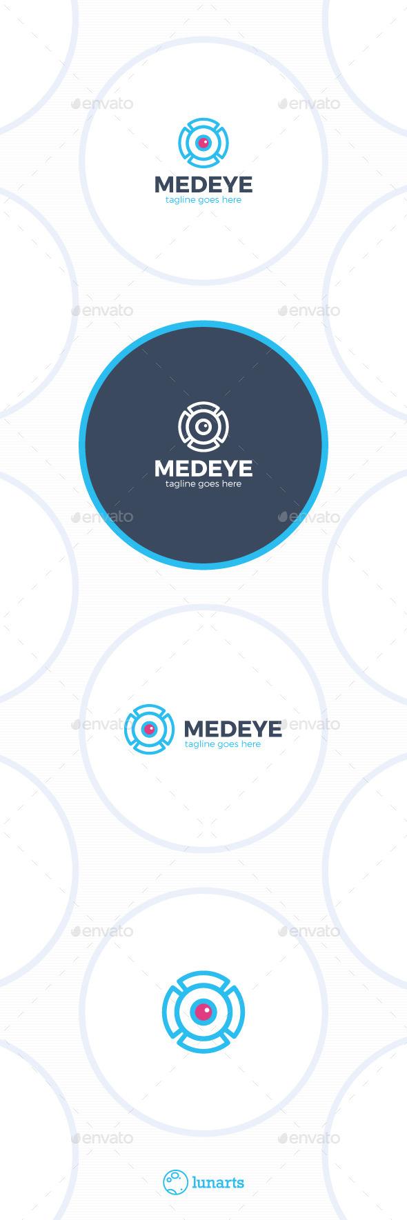 Medical Eye Logo - MRI - Symbols Logo Templates