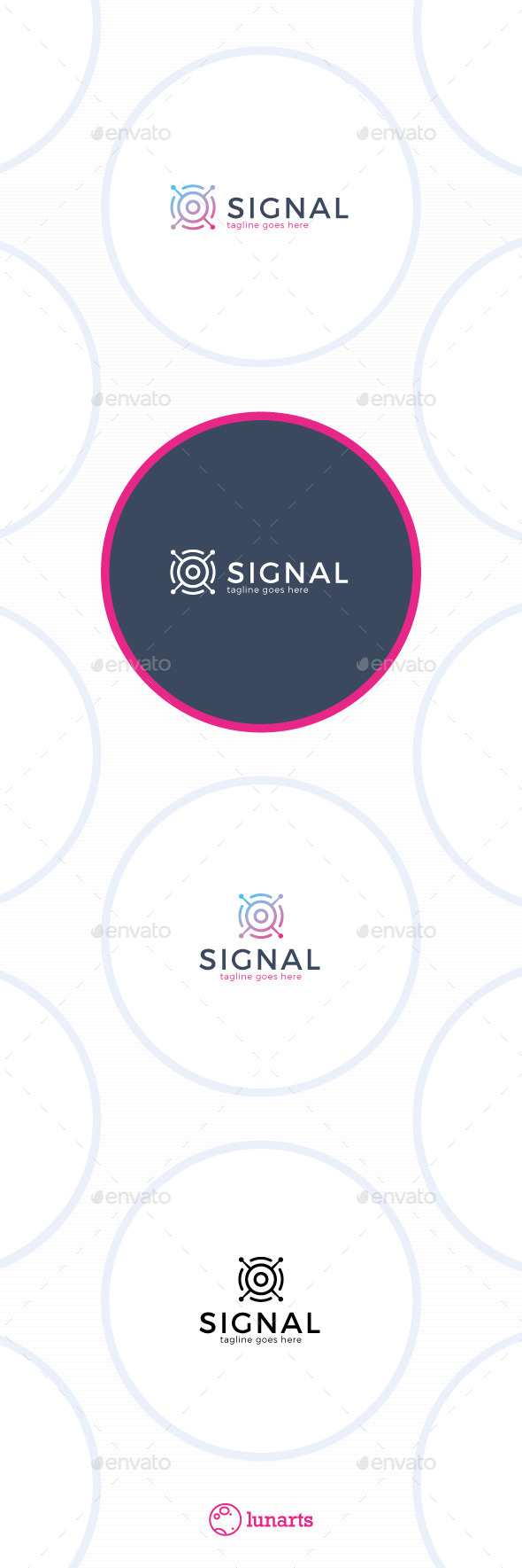 Satellite Signal Logo - Symbols Logo Templates