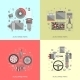 Set Of Auto Spare Parts - GraphicRiver Item for Sale