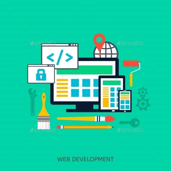 SEO Optimization Icons - Web Technology