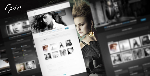 Free Download Epic HTML Portfolio Template Nulled Latest Version