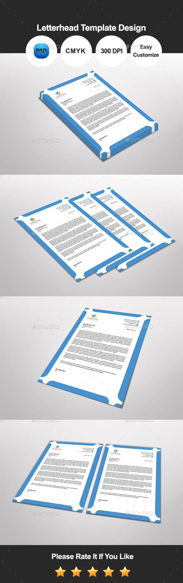 Jinjil Letterhead Template Design - Proposals & Invoices Stationery
